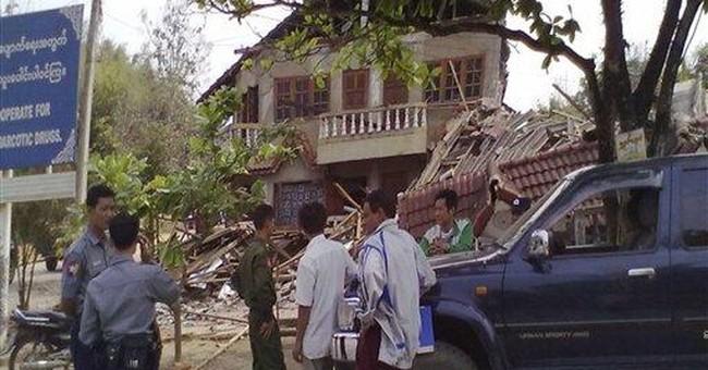 Powerful quake in NE Myanmar kills more than 70