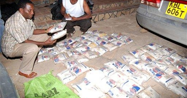 Kenya police arrest 6 with 430 pounds of heroin