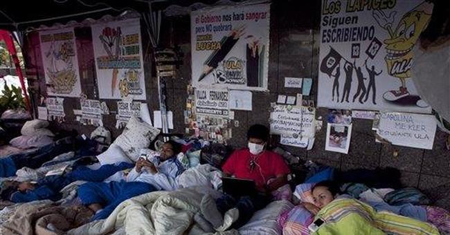 Venezuela students end hunger strike