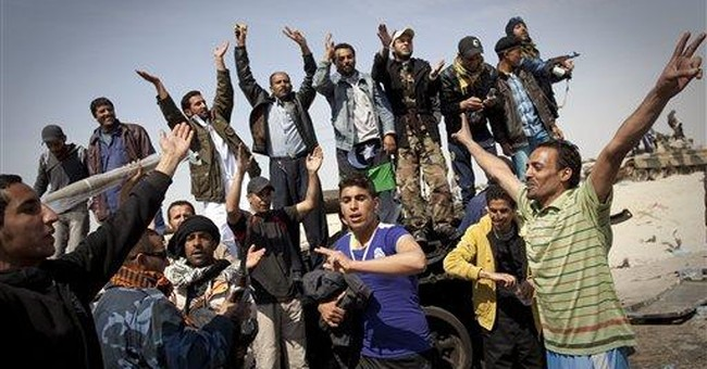 GOP 2012 hopefuls criticize Obama's Libyan policy