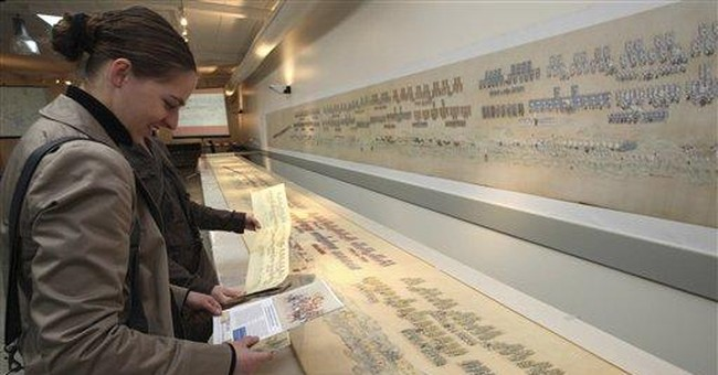 Giant silk China scroll goes for $30 million plus