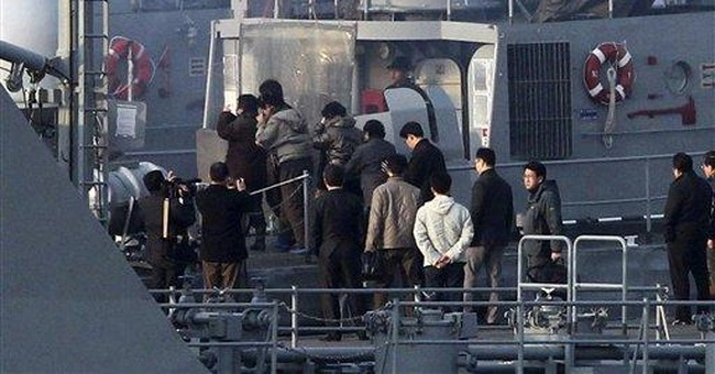 South Korea returns 27 to North whose boat drifted