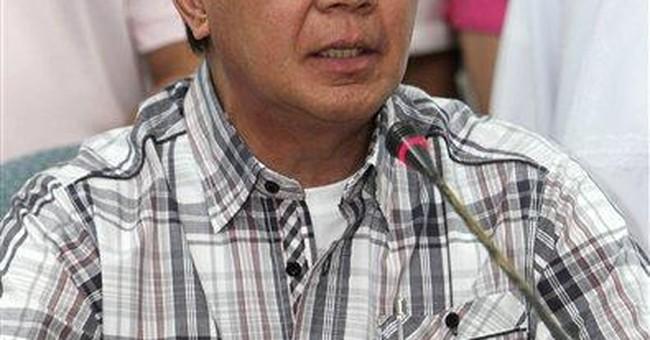 Philippine senator accused of murder faces public