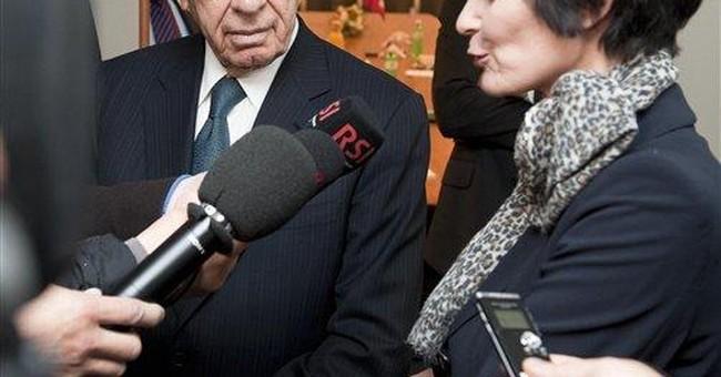 Israel president: Great hopes for Arab revolutions