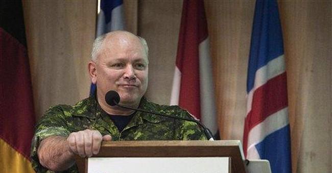 NATO commander: Mission is to protect civilians