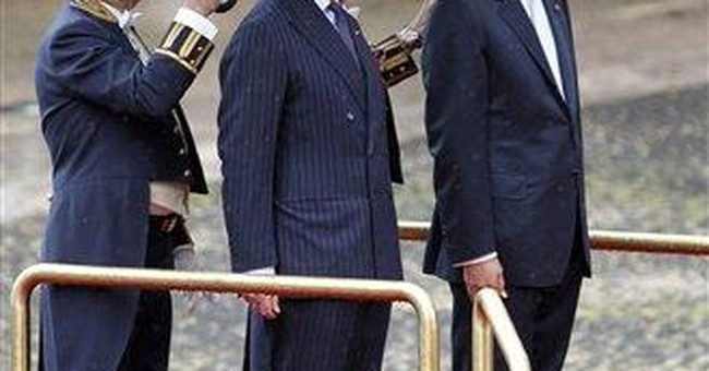 Prince Charles and wife Camilla visit Portugal