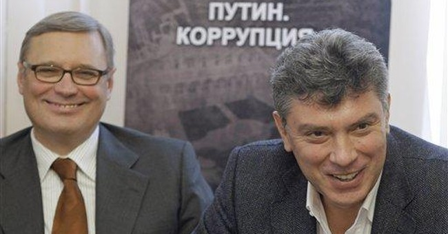 Russia opposition: Corruption worsened under Putin