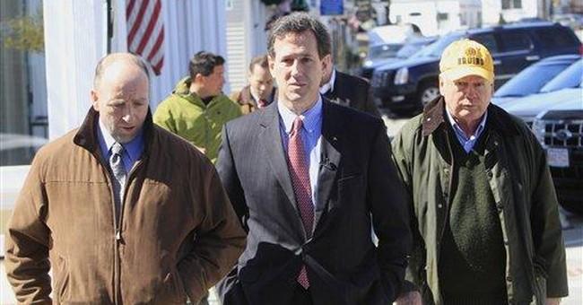 Santorum fighting for children like ill daughter