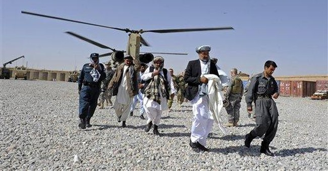 Afghan police: Taliban overrun remote district
