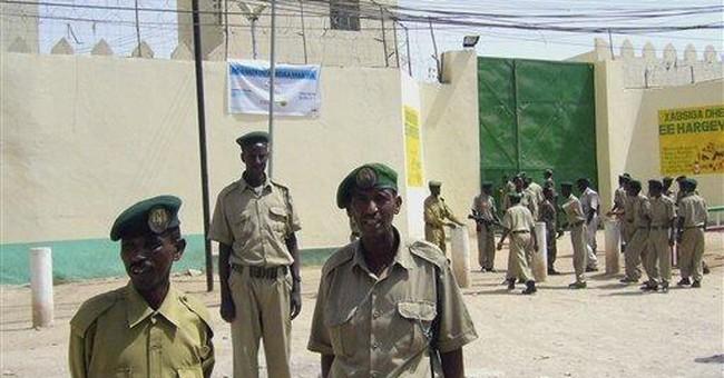 Somalia opens prison for pirates, more planned