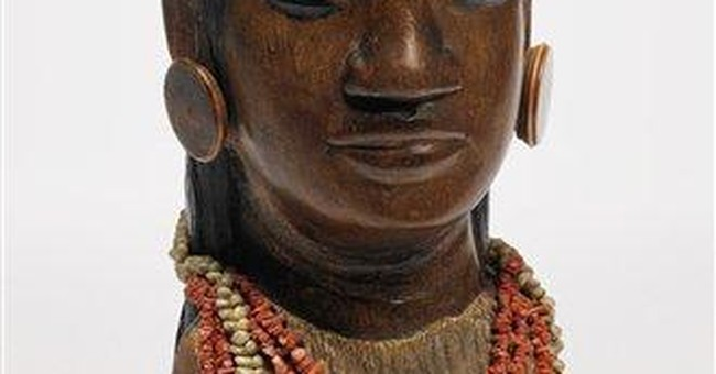 Gauguin wooden bust headed for NYC auction