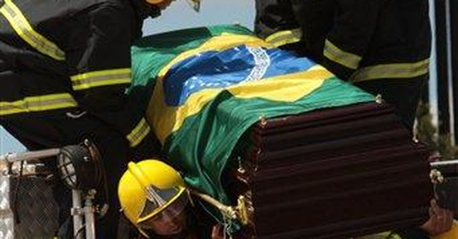 Brazilians pay homage to late vice president