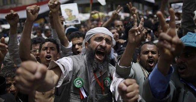 Huge Yemeni crowds press on for president's ouster