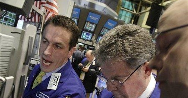 Telecom stocks push market higher; payrolls gain