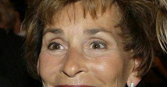 Judge Judy hospitalized for undisclosed ailment