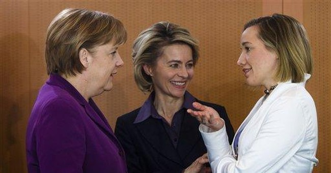 Germany's top 30 firms to promote women