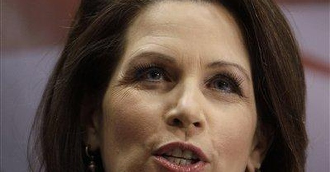 Bachmann says she wouldn't have gone into Libya