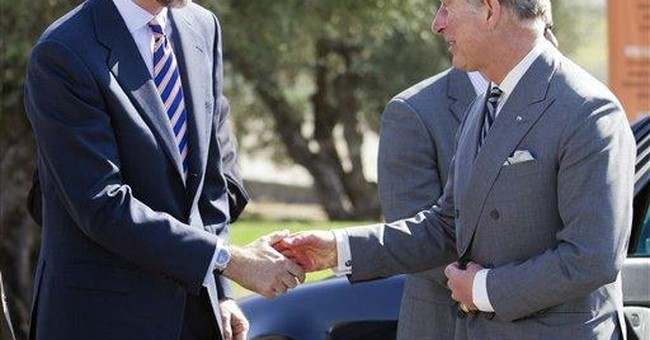 Prince Charles meets Spanish prime minister