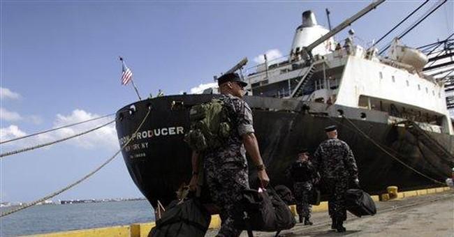 Caribbean ship testing new anti-piracy system