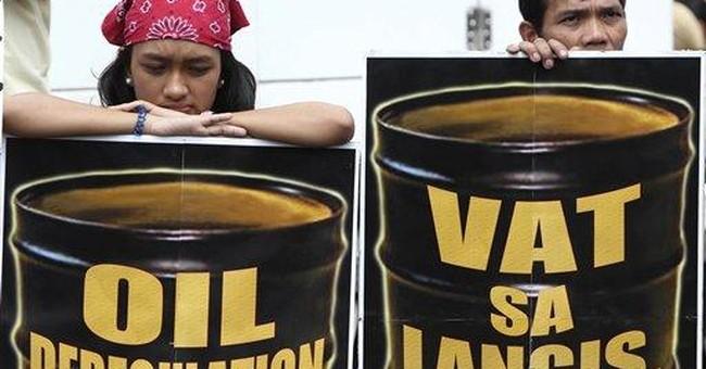 Oil tops $108 a barrel as jobless rate falls