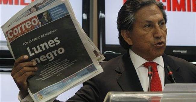 Resurgent leftist in Peru election
