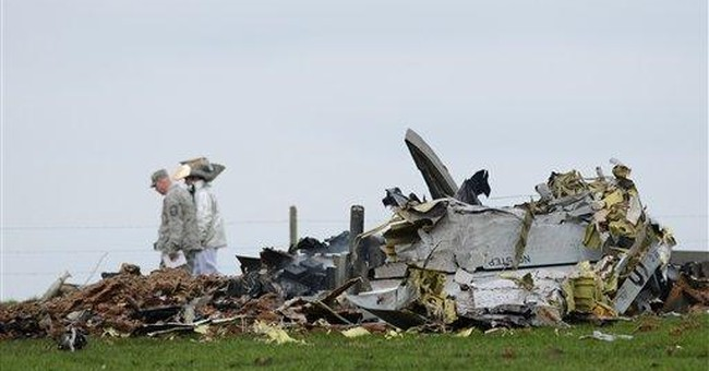 US Air Force attack jet crashes in Germany
