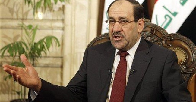 AP Interview: Iraq PM says Libya assault selective