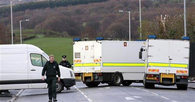 Booby-trap bomb kills Northern Ireland policeman