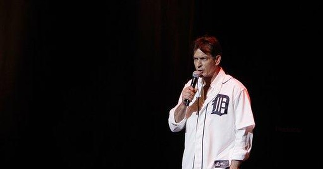 Charlie Sheen show sputters in Motor City