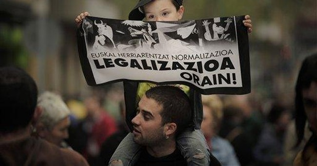Thousands march for Basque party in Spain