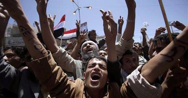 Activists: Yemeni police attack women with sticks