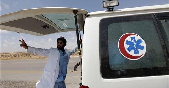In Libya, being a rebel medic means being a target