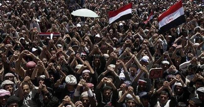 Troops fire on Yemen protest; US seeks Saleh exit