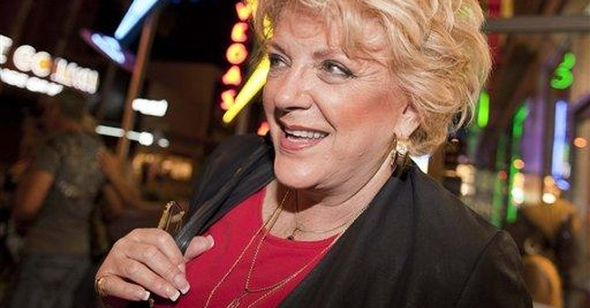 Wife of Vegas' colorful mayor closer to succession