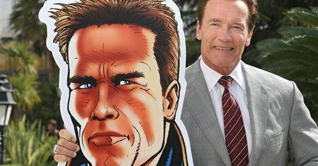Arnie is back, now as animated crime-fighter