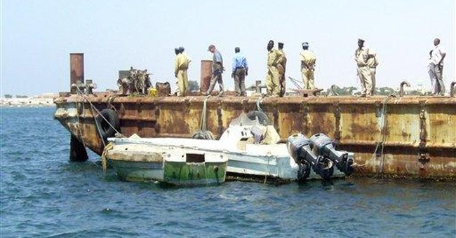 Somalia's top pirate catchers need boats