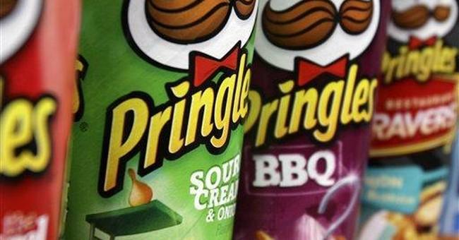 Diamond stacks up with $1.5B deal to buy Pringles