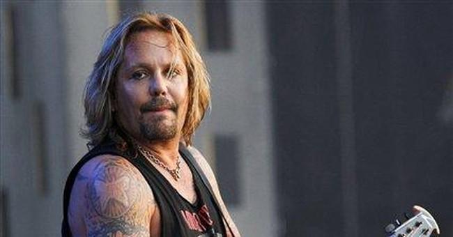 Rocker Vince Neil facing 2 misdemeanors in Vegas