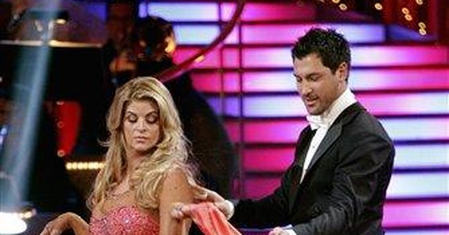 Alley takes a tumble on 'Dancing with the Stars'