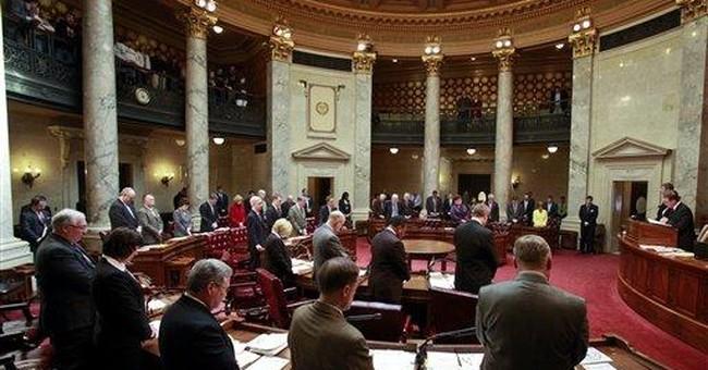 Wis. Democrats who fled quietly return to Senate