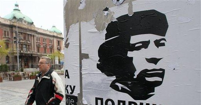 Serb nationalists love Gadhafi on Facebook page