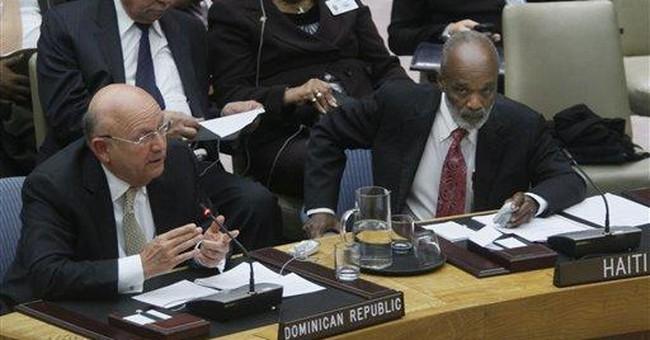 Haiti's leader criticizes UN military focus