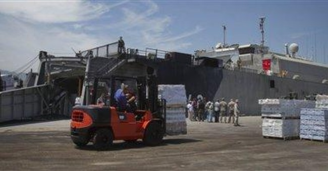 US Navy ship brings aid for Haitian orphanages
