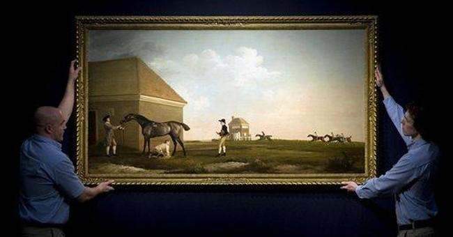 Horse portrait could fetch $33 million at auction