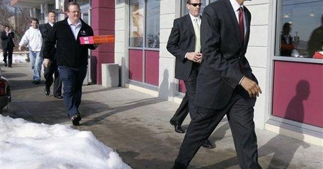 Like GOP, Obama taking aim at Iowa, NH, Nevada