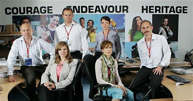 Olympic satire 'Twenty Twelve' hits close to home