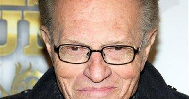 Larry King, TV pitchman; want a breath freshener?