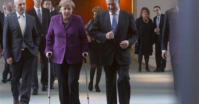 Merkel urges Netanyahu to resume Mideast talks