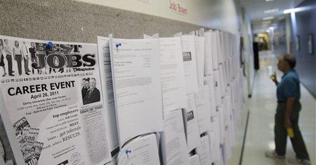 Fewer people sought unemployment aid last week