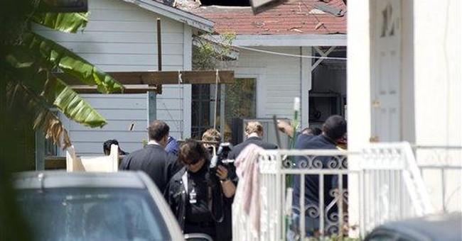 Police hunt suspect in blast near Calif. synagogue